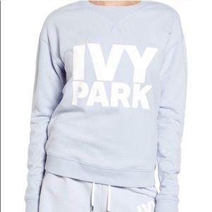 Light blue ivy park crew